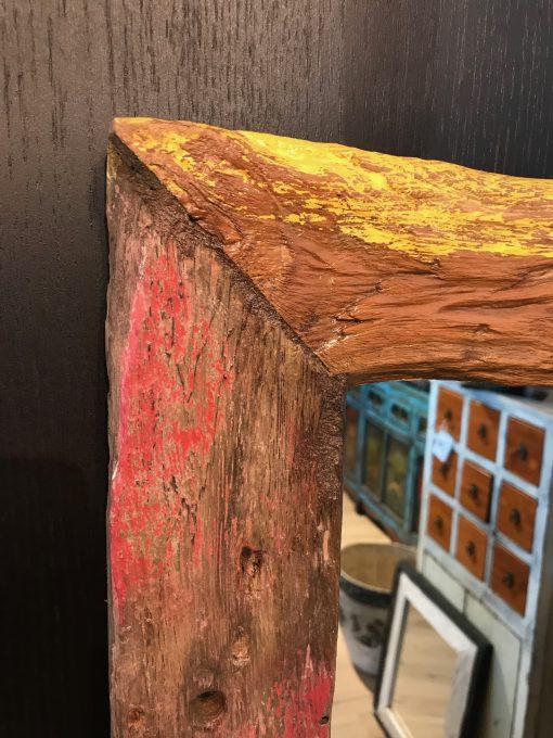 Holzspiegel bunt