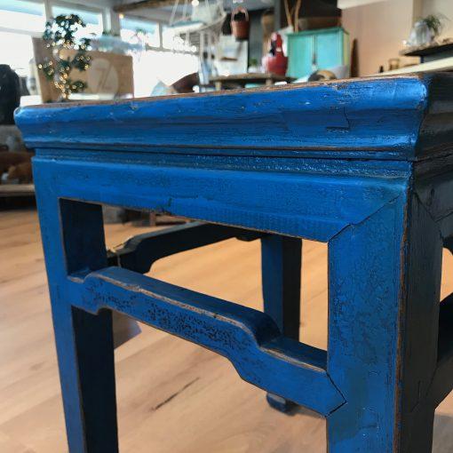 Couchtisch Holz Blau