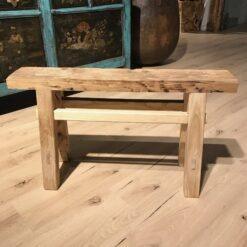 Kleine Holzbank Natur