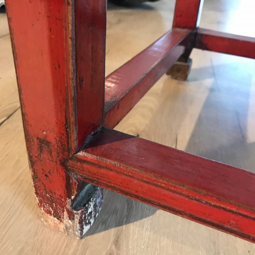 Couchtisch Holz Rot