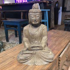 Figur betender Buddha