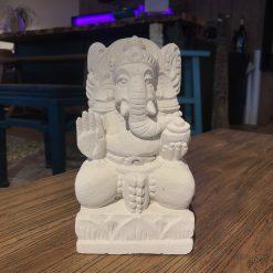Figur Ganesha Weiß