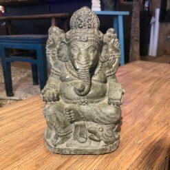 Figur Ganesha Grau