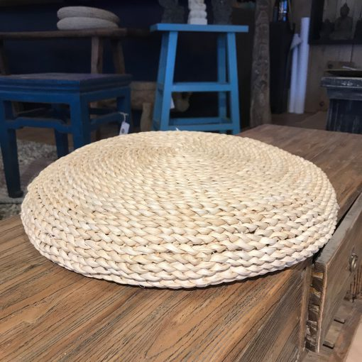 Sitzkissen aus Korb