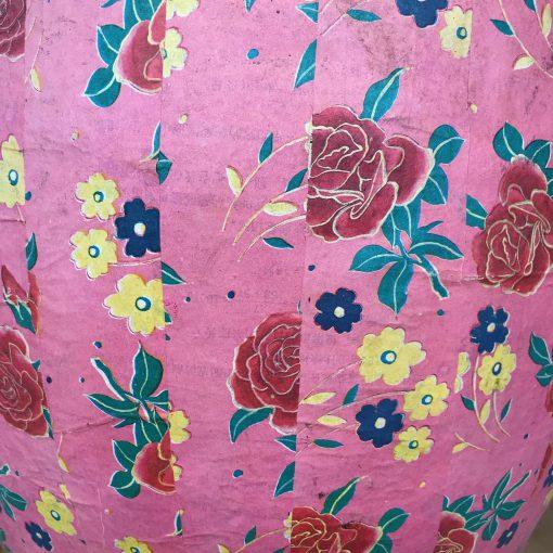 Papiertopf Rosa & Natur (L)