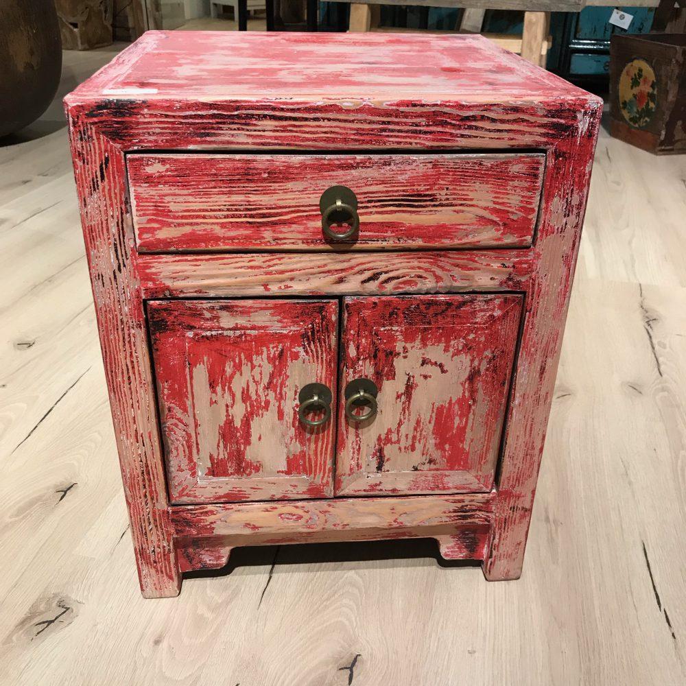 Mini Kommode Antikes Rot